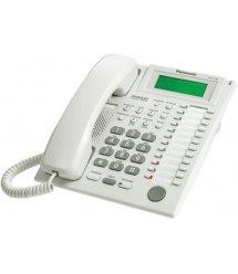 Системний телефон Panasonic KX-T7735UA White (аналоговий) для АТС Panasonic KX-TE/TDA