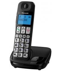 Радіотелефон DECT Panasonic KX-TGE110UCB Black