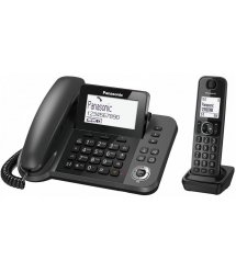 Радіотелефон DECT Panasonic KX-TGF320UCM Black