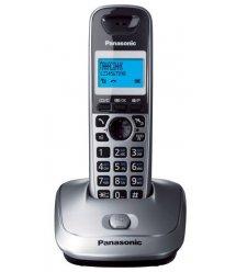 Радіотелефон DECT Panasonic KX-TG2511UAM Metallic