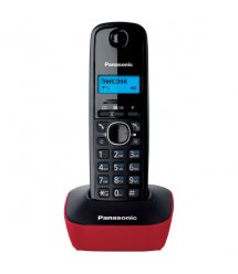 Радіотелефон DECT Panasonic KX-TG1611UAR Black Red