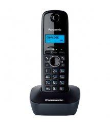 Радіотелефон DECT Panasonic KX-TG1611UAH Black Grey