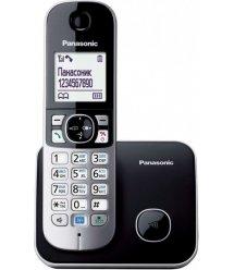 Радіотелефон DECT Panasonic KX-TG6811UAB, Black