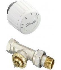 Комплект RTL DN 15 - прямий комплект, обмежувач температури зворотнього потоку (003L1014 + 003L1040)