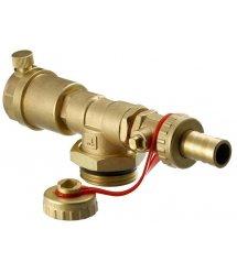 Торцева секція Danfoss FHF-EM з ручним пристроєм для видалення повітря