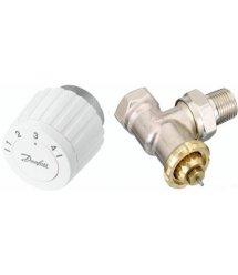 Комплект RTL DN 15 - кутовий комплект, обмежувач температури зворотнього потоку (003L1013 + 003L1040)