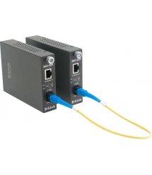 Медіаконвертер D-Link DMC-920R 100BaseTX/FX 20km WDM