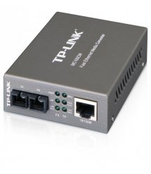 Медиаконвертер TP-LINK MC100CM 100Base-TX-100Base-FX, MM, 2km, SC