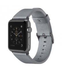 Belkin Ремешок Classic Leather Band для Apple Watch 38 мм[Серый]