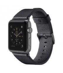 Belkin Ремешок Classic Leather Band для Apple Watch 38 мм[Черный]
