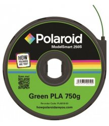 Картридж з ниткою 1.75мм / 0.75кг PLA Polaroid ModelSmart 250s, зелений