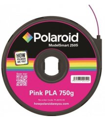 Картридж з ниткою 1.75мм / 0.75кг PLA Polaroid ModelSmart 250s, рожевий