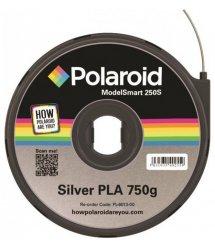 Картридж з ниткою 1.75мм / 0.75кг PLA Polaroid ModelSmart 250s, сріблястий