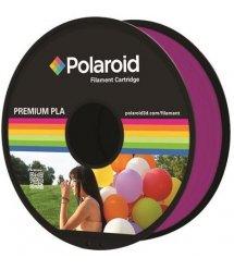 Котушка з ниткою 1.75мм / 1кг PLA Polaroid для 3D принтера, прозорий пурпурний