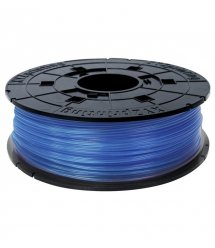 Катушка с нитью 1.75мм/0.6кг PLA XYZprinting Filament для da Vinci, прозрачный синий