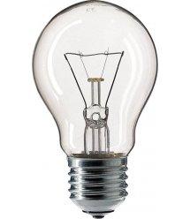 Лампа накаливания Philips E27 75W 230V A55 CL 1CT/12X10 Stan