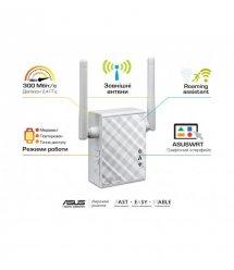 Точка доступу-репітер ASUS RP-N12 802.11n, 300Mbps, 1xLAN