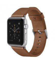 Ремінець BELKIN Classic Leather Band for Apple Watch 38mm Brown