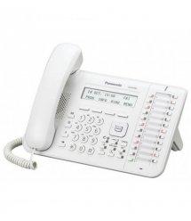 Системний телефон Panasonic KX-DT543RU White (цифровий) для АТС Panasonic