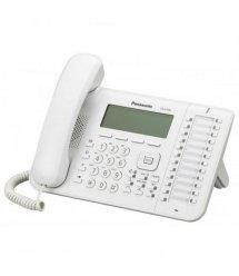 Системний телефон Panasonic KX-DT546RU White (цифровий) для АТС Panasonic