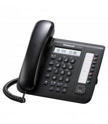 Системний телефон Panasonic KX-DT521RU Black (цифровий) для АТС Panasonic