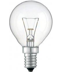 Розжарювання лампа Philips P45 60W 230V E14 CL.1CT/10X10F