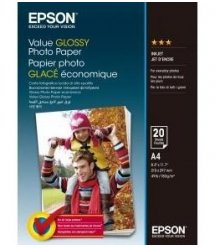 Папір Epson A4 Value Glossy Photo Paper 20 л.