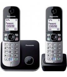 Радиотелефон DECT Panasonic KX-TG6812UAB Black