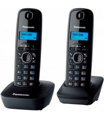 Радиотелефон DECT Panasonic KX-TG1612UAH Grey