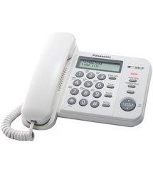 Дротовий телефон Panasonic KX-TS2356UAW White