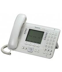 Проводной IP-телефон Panasonic KX-NT560RU White для АТС Panasonic KX-TDE/NCP/NS