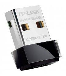 WiFi-адаптер TP-Link TL-WN725N 802.11n, 2.4 ГГц, N150, USB 2.0, nano