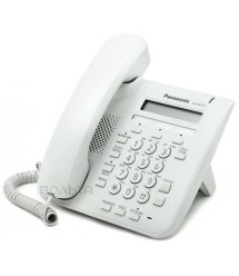 Проводной IP-телефон Panasonic KX-NT511ARUW White для АТС Panasonic KX-TDE/NCP/NS