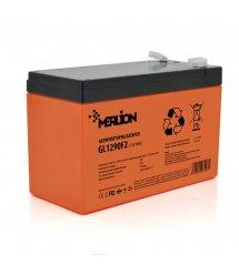Аккумуляторная батарея MERLION GL1290F2 12 V 9 Ah ( 150 x 65 x 95 (100) ) Orange Q10