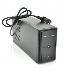 ИБП Ritar E-RTM1000 (600W) ELF-L, LED, AVR, 3st, 3xSCHUKO socket, 2x12V7Ah, metal Case Q2 (405*195*285) 10 кг (340*120*190)