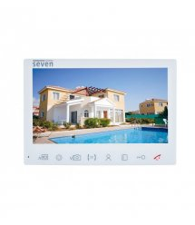 Домофон SEVEN DP–7575 FHD IPS white