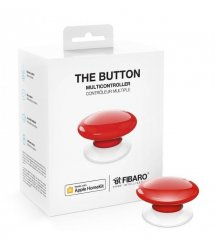 Кнопка управления FIBARO The Button для Apple HomeKit, red (красный) - FGBHPB-101-3