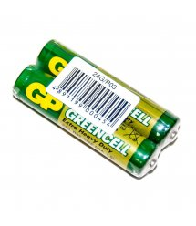 Батарейка солевая GP Greencell 24G-S2 AAA 2шт