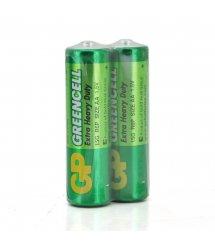 Батарейка солевая GP Greencell 15G-2S2 AA 2шт