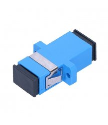 Адаптер оптический Соединение SC / UPC-SC / UPC SIMPLEX, в пачке по 50 штук Q50 (B4000)