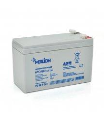 Аккумуляторная батарея MERLION AGM GP1270F2 12 V 7Ah ( 150 x 65 x 95 (100) ) White Q10