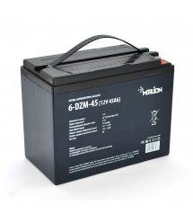 Тяговая аккумуляторная батарея AGM MERLION 6-DZM-45, 12V 45Ah F2 (223*121*175)