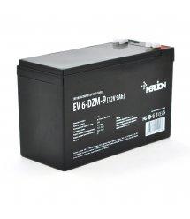 Тяговая аккумуляторная батарея Merlion EV 6-DZM-9, 12V 9Ah F2 (151*65*93)