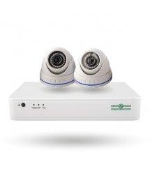 Комплект видеонаблюдения Green Vision GV-IP-K-S33/02 1080P