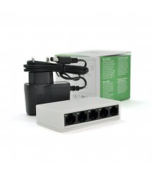 Коммутатор PIX-LINK LV-SW05 5 портов Ethernet 10 - 100 Мбит - сек, BOX Q100