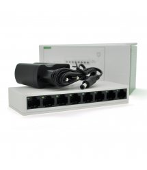Коммутатор PIX-LINK LV-SW08 8 портов Ethernet 10 - 100 Мбит - сек, BOX Q100