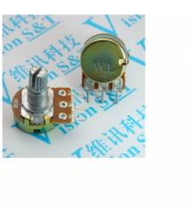 Многооборотный переменный потенциометр WH148 B500K, 100шт в упаковке, цена за упаковку