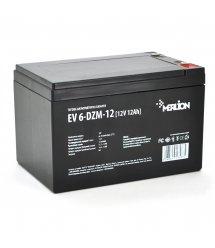 Тяговая аккумуляторная батарея Merlion EV 6-DZM-12, 12V 12Ah F2 (152*99*98)
