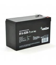 Тяговая аккумуляторная батарея Merlion EV 6-DZM-7, 12V 7Ah F2 (151*65*93)