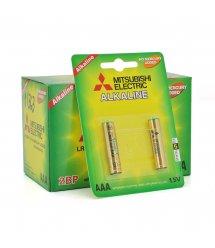 Батарейка щелочная MITSUBISHI 1.5V AAA - LR03, 2pcs - card, 24pcs - inner box, 288pcs - ctn